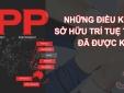 TPP cho phép xử lý hình sự các vụ việc xâm phạm quyền sở hữu trí tuệ