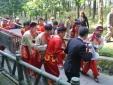 Dâng cặp bánh chưng 700kg tri ân bà Hoàng Thị Loan