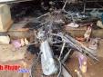 Bình Phước: Nhà sách bùng cháy, thiêu trụi 700 triệu đồng