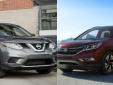 Honda CR-V và Nissan Rogue 2016 - xứng tầm 'kỳ phùng địch thủ'