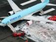 320 hành khách hoảng loạn vì máy bay Hàn Quốc bốc cháy đen xì