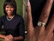 Chiêm ngưỡng cặp nhẫn cưới 'Rồng - Kim cương' của vợ chồng tổng thống Obama