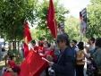 Kiều bào ở Hungary hướng về Tổ quốc, xuống đường biểu tình vì Biển Đông