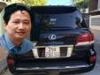 Phó Chủ tịch tỉnh mượn Lexus 570 rồi thay biển xanh vào để đi làm cho tiện