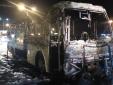 Thêm một vụ cháy xe khách 45 chỗ khiến người dân hoang mang