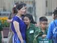 Hơn 130 'chiến sỹ nhí' xa nhà lên đường 'nhập ngũ'