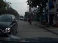 CSGT TP.HCM truy tìm chiếc Lexus ngang nhiên đi ngược chiều giữa phố Sài Gòn