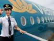 Lương phi công Vietnam Airlines 100 triệu đồng một tháng