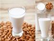 Các mẹ có biết thành phần gây ung thư trong sữa hạnh nhân?