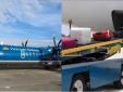 Máy bay Vietnam Airlines bị thùng hàng va trúng sau khi hạ cánh
