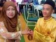 Trai tân 18 tuổi gây bất ngờ khi kết hôn với bà mẹ 42 tuổi