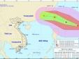 Bão MEGI giật cấp 14 gần Biển Đông, dự báo đổ bộ Trung Quốc