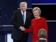 Tranh luận trực tiếp giữa Donald Trump - Hillary Clinton