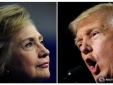 Trump và Clinton: Những hình ảnh mới nhất về cuộc đối đầu nảy lửa