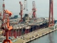 Hình ảnh hoàn tất tàu sân bay có âu tàu dài nhất thế giới của Trung Quốc