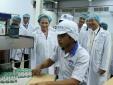 Đoàn đại biểu Quốc hội thăm nhà máy sữa Angkor Vinamilk tại Campuchia