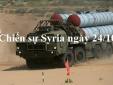 Chiến sự Syria mới nhất hôm nay ngày 24/10: Nga phái đội tàu mạnh nhất tới Syria