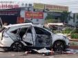 Tai nạn tàu hỏa ở Thường Tín: Ô tô tan nát, 5 người tử vong