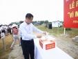 Khu CNC Hòa Lạc quyên góp ủng hộ đồng bào miền Trung