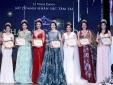 Hoa hậu Giáng My thay 3 bộ trang phục trong đêm Sắc Tâm Tài