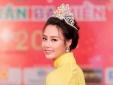 Hoa hậu Biển Thùy Trang rạng rỡ với áo dài truyền thống