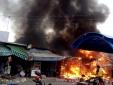 Cháy nổ lớn ở TP. Hồ Chí Minh: 4 người bị bỏng nặng 80% - 90%
