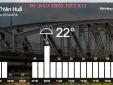 Dự báo thời tiết hôm nay (8/12): Cảnh báo miền Trung mưa lớn diện rộng