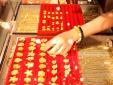 Giá vàng hôm nay 10/12: Vàng tiếp tục sụt giảm, khó bứt phá
