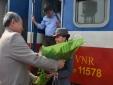 Bộ trưởng GTVT Trương Quang Nghĩa thị sát đường sắt Hà Nội - Vinh
