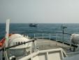 Sau 3 ngày trôi dạt trên biển, 7 thuyền viên được cứu