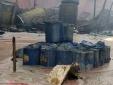Lửa cháy ngùn ngụt nhà kho chứa hóa chất rộng 500m2