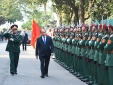 Thủ tướng kiểm tra công tác sẵn sàng chiến đấu tại Sư đoàn Chiến thắng