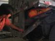 Chân dung tài xế container dìu xe khách mất phanh, cứu 30 hành khách