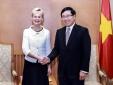 Phó Thủ tướng Phạm Bình Minh tiếp Thống đốc vùng Ostergotland, Thụy Điển