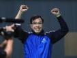 Xạ thủ Hoàng Xuân Vinh đoạt HCB World Cup bắn súng ở New Delhi