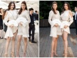 Phạm Hương, Lệ Hằng đọ chân dài miên man khi cùng diện váy ngắn