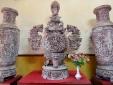 Bộ tác phẩm 'Tam bảo vĩnh hằng' được trả giá 15 tỷ đồng ở Hà Nội có gì đặc biệt?