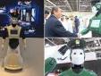 Cận cảnh cảnh sát người máy đầu tiên trên thế giới ở Dubai