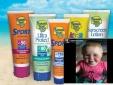 Cảnh báo: Kem chống nắng Banana Boat kids gây bỏng nặng cho bé 14 tháng tuổi