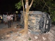 Tai nạn giao thông ngày 24/5: Ôtô Fortuner lao vào gốc cây nát bét, 5 người nhập viện