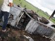 Công an thông tin việc 2 người đi mua gỗ bị vây bắt, đốt xe Fortuner ở Hải Dương