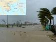 Bão số 4 đổ bộ vào vùng biển Hà Tĩnh, mưa lớn ở Trung Bộ