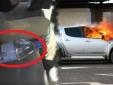 Cảnh báo tài xế: Tiện tay để chai nước lọc trên ghế xe, một lúc sau ô tô bốc khói