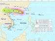 Cơn bão số 6 sẽ ảnh hưởng lớn đến Bắc Bộ trong chiều và đêm nay