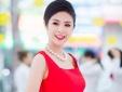 Hoa hậu Ngọc Hân 'rỉ tai' với bạn trẻ thủ đô bí quyết khởi nghiệp