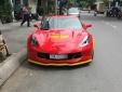 'Lạ lẫm' với Chevrolet Corvette C7 Z06 tiền tỷ đỏ rực tại Nha Trang