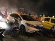 Hải Phòng: Ô tô 'điên' tông hàng loạt xe máy dừng đèn đỏ