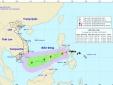 Bão Kai-tak sắp vào Biển Đông và có thể sẽ mạnh thêm