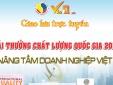Giao lưu trực tuyến 'Giải thưởng chất lượng Quốc gia 2017 nâng tầm doanh nghiệp Việt'
