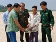 Thừa Thiên - Huế: Rùa biển quý hiếm trong sách đỏ mắc vào ngư cụ